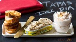 Vite fait bien fait: beurre d'anchois et mousse de