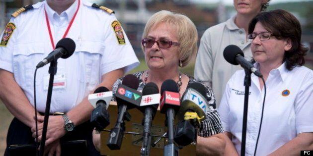 Sécurité ferroviaire: la mairesse de Lac-Mégantic reçue à