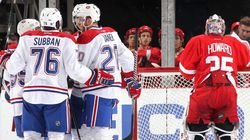 Le Canadien l'emporte contre les Red Wings de