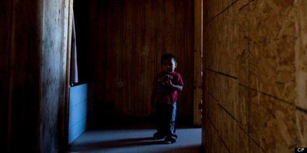 Neuf enfants autochtones sur dix dans le nord canadien ne mangent pas à leur