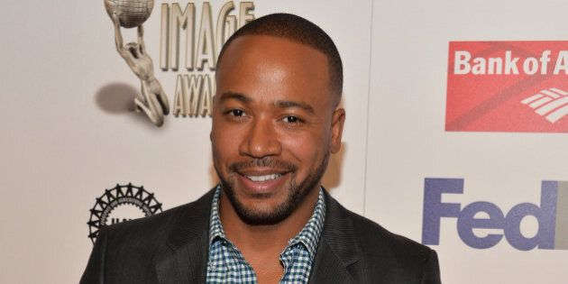 PASADENA, CA - FEBRUARY 21: Actor Columbus Short attends the 45th NAACP Awards Non-Televised Awards Ceremony...