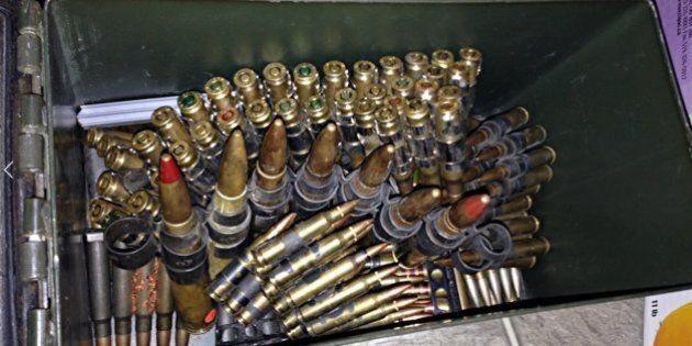Un arsenal formé d'armes de collection sème l'émoi à