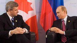 Stephen Harper imagine mal un retour de la Russie au G8