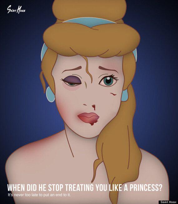 Les princesses de Disney nous rappellent que personne n'est à l'abri de la violence conjugale