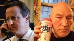 Les internautes s'amusent avec la photo de David Cameron s'entretenant au téléphone avec Barack Obama