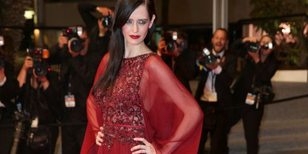 CANNES, FRANCE - MAY 17: Actress Eva Green attends the 'The Salvation' premiere during the 67th Annual...