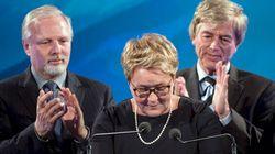 Élections 2014 - Pauline Marois annonce sa démission