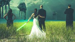 Tout ce dont vous avez besoin pour un mariage Star Wars