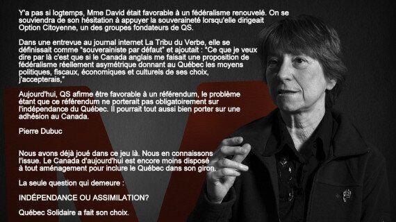 Les souverainistes n'ont rien à attendre de Québec