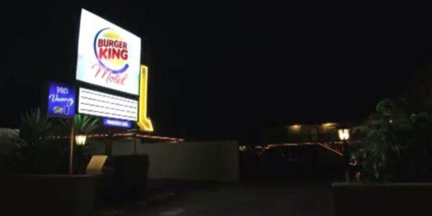 Burger King paye un motel à ses clients infidèles... au Whopper