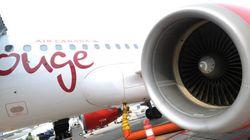 Air Canada remplace son service par des vols de Rouge pour certaines