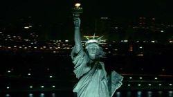 Quand la Statue de la Liberté a les cheveux au vent...