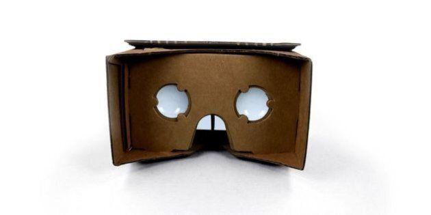Google lance le Cardboard, un masque à réalité augmentée en