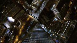 Il saute du haut du nouveau World Trade Center à New York