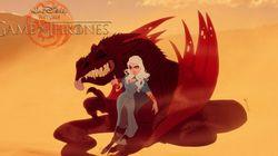 Et si «Game of Thrones» était dans le monde de Disney?