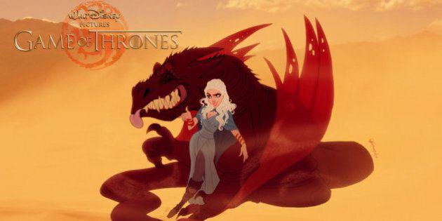 Si «Game of Thrones» était dans le monde de Disney