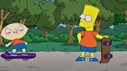 «Les Simpson» et «Family Guy» se rencontrent dans un épisode croisé