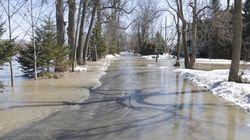 Débordements de cours d'eau attendus ce