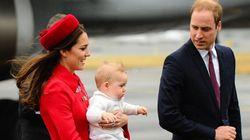 Le prince George n'a pas un siège auto