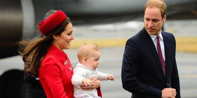 Siège auto pour enfants: le prince George n'a pas un siège auto