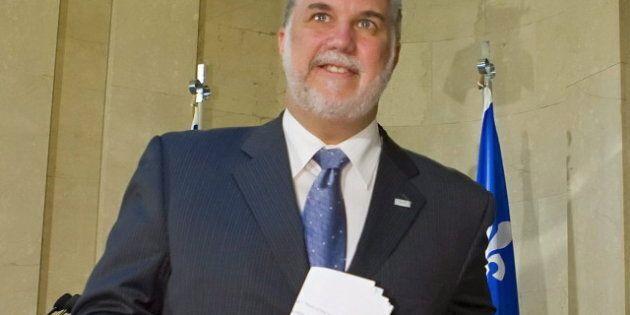 Le chef libéral Philippe Couillard courtise les