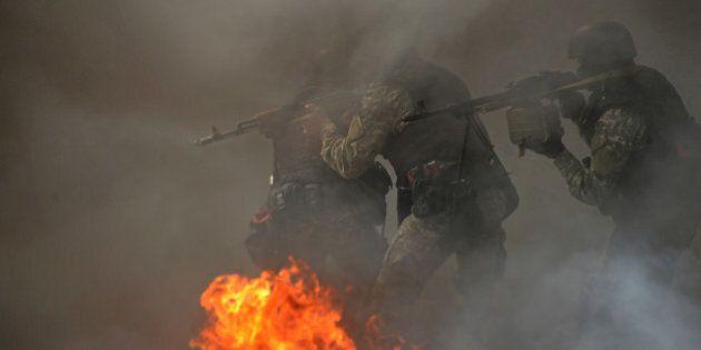 Ukraine: l'armée lance un assaut à Slaviansk contre les séparatistes