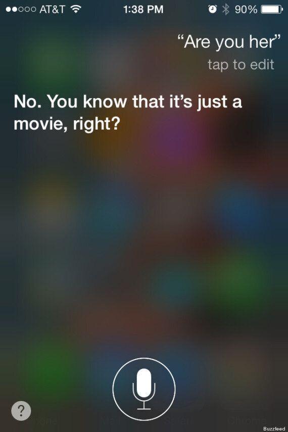 Scarlett Johansson n'est pas Siri