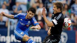 L'Impact continue à s'enfoncer en s'inclinant face au Sporting