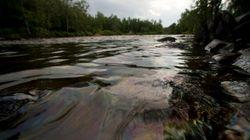 Lac-Mégantic: la rivière Chaudière encore