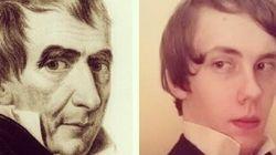 Sur Instagram, il imite tous les présidents américains