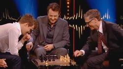 Regardez Bill Gates se faire maîtriser aux échecs en quelques