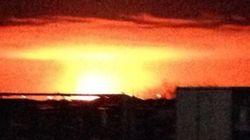 Explosion d'un gazoduc au Manitoba : l'incendie est maintenant