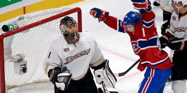 Intense et concentré, le Canadien se moque des Ducks 4-1 au Centre