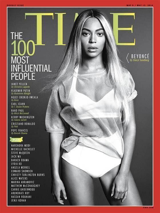 Dans le classement Time, Beyoncé distinguée comme la personnalité la plus influente de