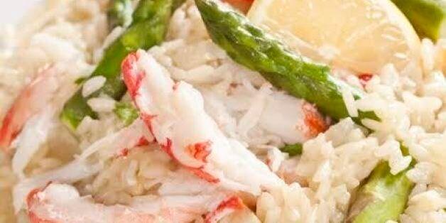 Recette: Risotto au crabe et