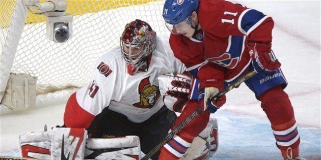 Le Canadien de Montréal est défait 4-3 en prolongation par les Sénateurs