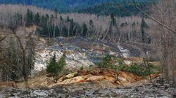 État de Washington: glissement de terrain