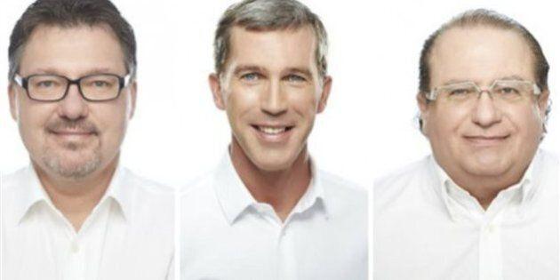 Trois candidatures de la CAQ