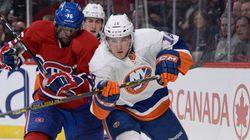 Le Canadien s'incline devant les Islanders au Centre