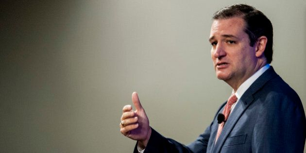 U.S. Senator Ted Cruz, a Republican from Texas, speaks at the Heritage Foundation in Washington, D.C.,...