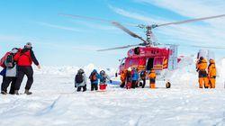 Antarctique: les passagers du brise-glace peuvent finalement rentrer chez