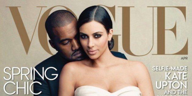 Kim Kardashian est en couverture de Vogue, au grand dam des amateurs de