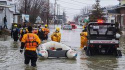 Montérégie/Estrie: les inondations se résorbent, mais la surveillance