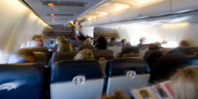 Les sièges d'avions rétrécissent en classe