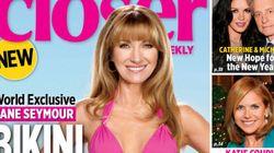 Jane Seymour en couverture du magazine Closer