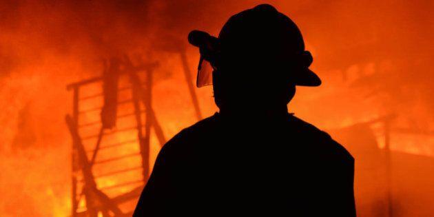 Vidéo de l'incendie à