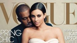 Kim Kardashian en robe de mariée pour