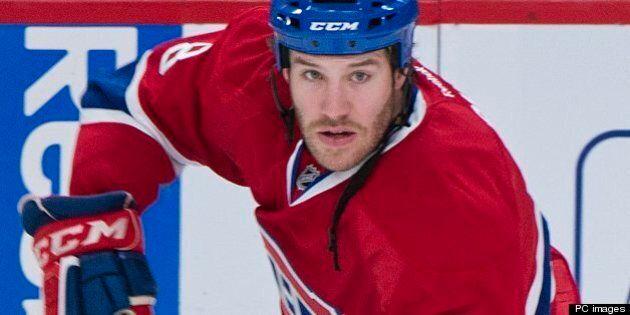 Le Canadien privé de Brandon Prust pour le reste de la saison