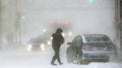 Blizzard et pannes de courant à