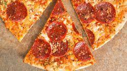 La taille parfaite d'une part de pizza, selon une